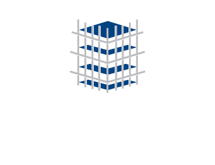 building structure beams construction logo icon