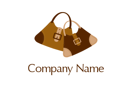 leather purses logo