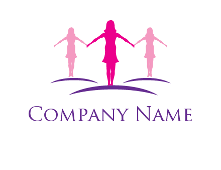 women join hands logo