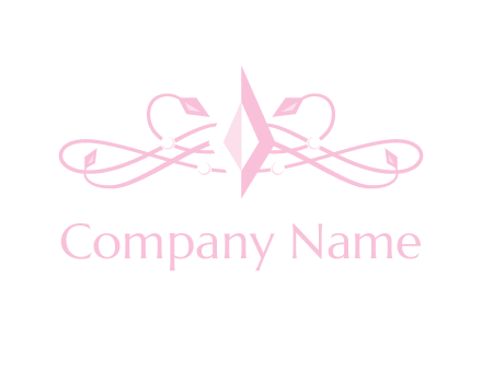 pink diamond logo