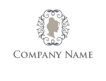 woman in frame logo