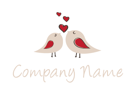 birds in love logo