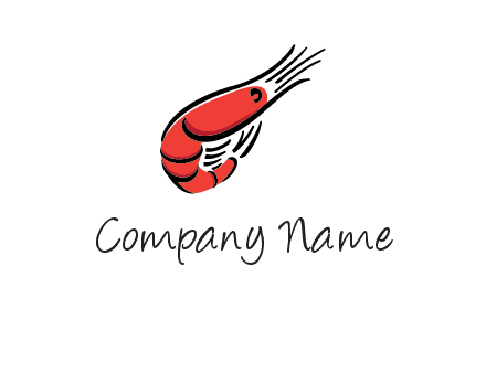 red shrimp logo