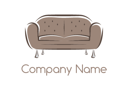 couch or sofa logo