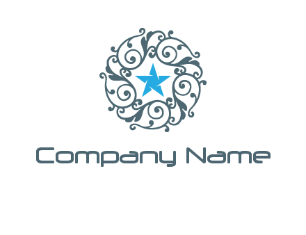 ornamental star logo