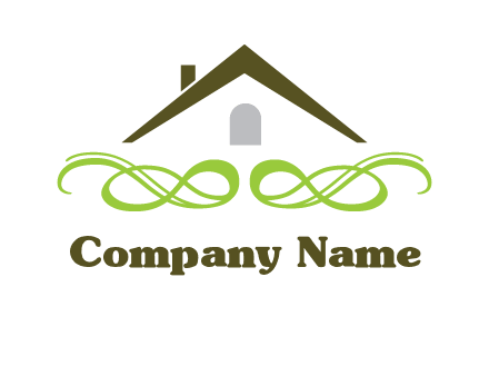 rooftop and ornament logo