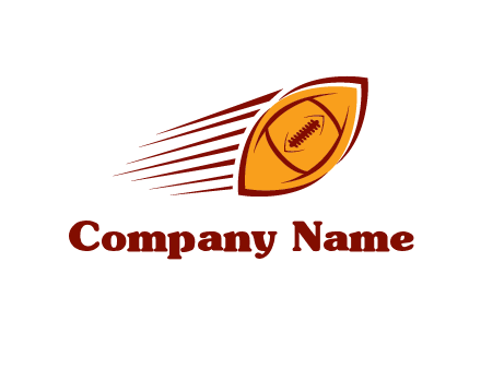 football flying logo