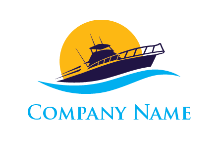 sun ship travel logo
